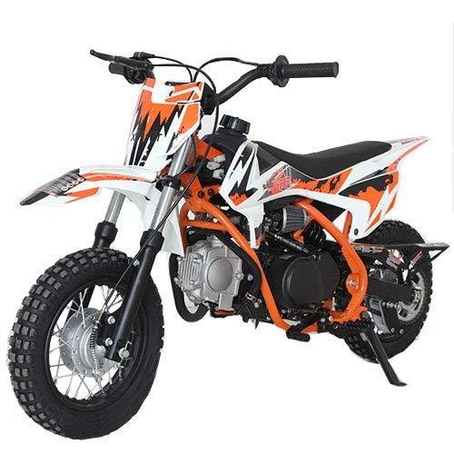 X-Pro 110cc Kids PitBike with Semi-Automatic Transmission, YinXiang Brand Engine, Kick Start ()