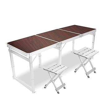 MEI XU Table Chaise Pliante Carre