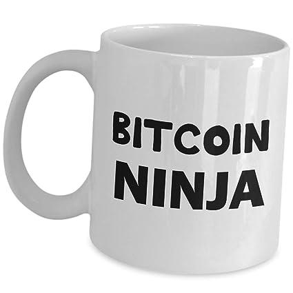 Amazon.com: Funny Cute Gag Gifts for Bitcoin Ninja Investor ...