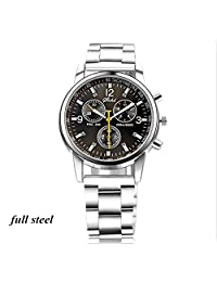 mens watch sale top brand Casual Hollow Engraving Alloy Band quartz wristwatches