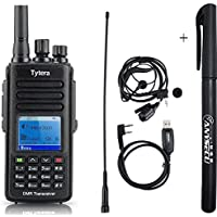 IP67 Waterproof Handheld Transceiver TYT MD-390 DMR Digital Walkie Talkie UHF400-480MHz Compatible with Mototrbo 1000CH CTCSS DCS