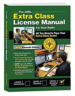 The ARRL Extra Class License Manual by [ARRL Inc.]