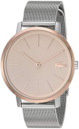 Lacoste Quartz Watch with Stainless Steel Strap, Two Tone, 16 (Model: 2001072) 1