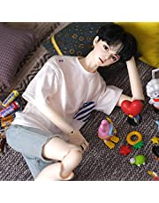 Handsome1 / 3 Boy BJD Doll, SD Dolls 24.6 Inch 15 Ball Jointed Doll DIY Toys with Clothes Outfit Shoes Wig Hair Makeup, Best Gift for Christmas