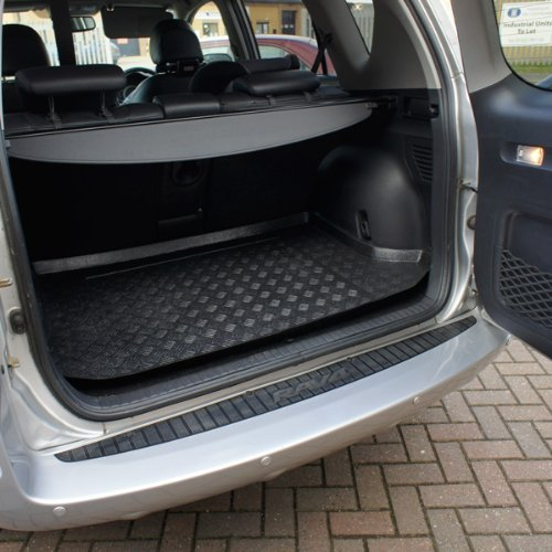 Black Carpet Insert carmats4u To fit Leon HB 2005-2013 Fully Tailored PVC Boot Liner//Mat//Tray