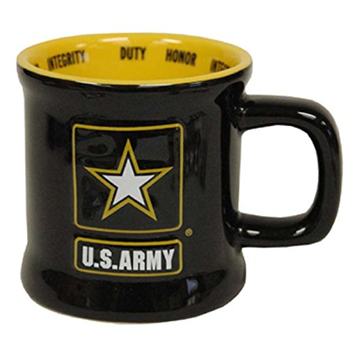 Jenkins Enterprises United States Army Ceramic Relief Mug