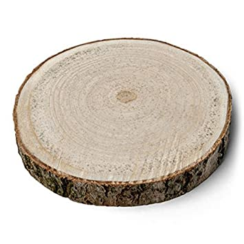 AF - Rueda de madera para centro de mesa, diámetro 16 cm-22 cm ...