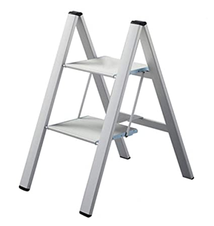 Groovy Amazon Com Lightweight Stepladders 2 Step Aluminum Ladder Camellatalisay Diy Chair Ideas Camellatalisaycom