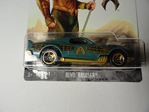*Hot Wheels Justice League Aquaman Blvd Bruiser Die Cast Vehicle
