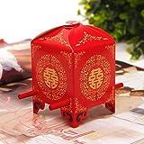 Joinwin® 50psBride sedan chair chinese Wedding Favor Boxes gift box candy box