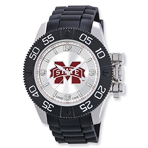 Perfect Jewelry Gift Collegiate Mens Mississippi State University Beast Watch