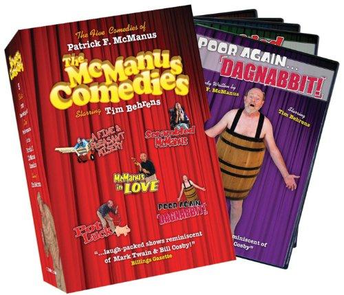 patrick f mcmanus comedies complete collection stream movies