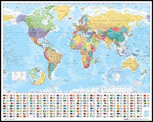 ポスター 世界地図 Mp 0564