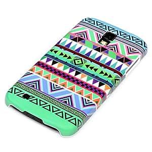 deinPhone - Carcasa para Samsung Galaxy S4 Active i9295, diseño de zigzag, color verde