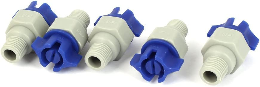 "1pcs New Plastic PP Fine atomization spray nozzle  1//8/"" bspt"