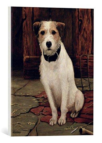 kunst für alle Canvas Print: John Rabone Harvey Portrait for sale  Delivered anywhere in USA