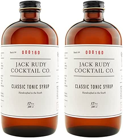 Jack Rudy Classic Tonic Syrup 17 oz (2-pack)