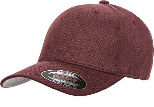 Flexfit 6477 Wool Blend Cap - Small/Medium (Maroon)