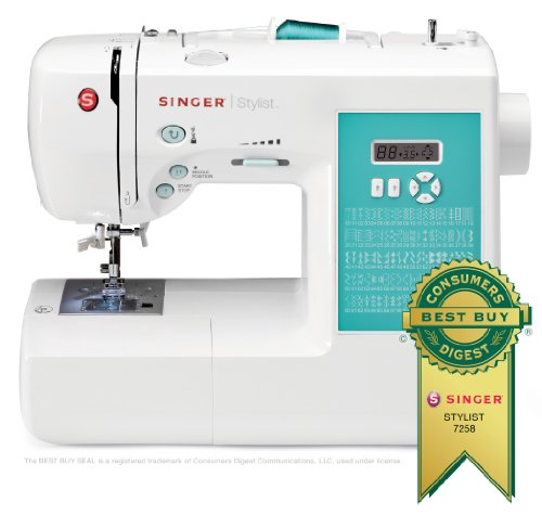 SINGER 7258 Computerized Sewing and Best Quilting Machine Image