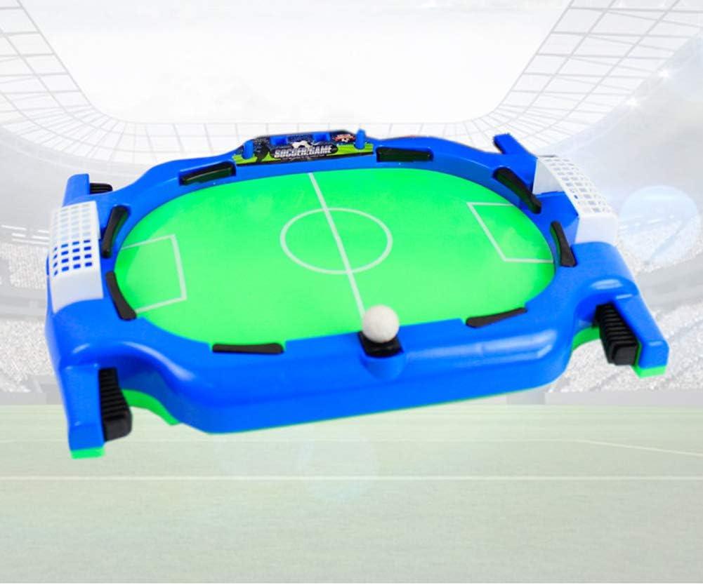 LCZ De Plataforma de Escritorio, Mesa de Billar Partido de fútbol Partido de fútbol Que juegan los Juguetes Deportivos, niños y Adultos se divierten interactivos Deportes de los niños educativos,Azul: Amazon.es: Deportes