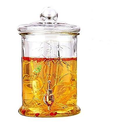 Homebrew fermentador de cerveza y vino Botella de vidrio sin plomo jarra de vino, Botella