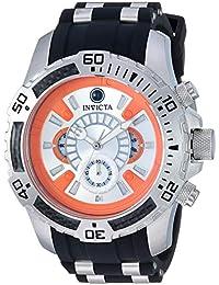 Men's Star Wars Stainless Steel Quartz Watch with Silicone Strap, Black, 25.8 (Model: 26177)