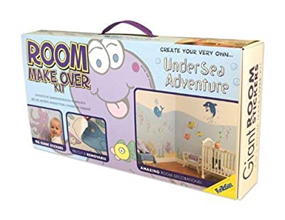 Funtosee Room Makeover Decal Kit Undersea Adventure by FunToSee