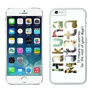Xilaile Most Popular iPhone 6 Case White Kimberly Kurzendoerfer