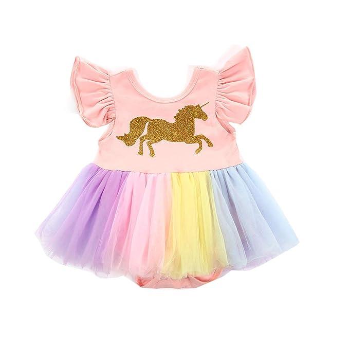 Amazon.com: Disfraz de unicornio de manga voladora de encaje ...