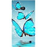 Casotec Flying Butterflies Design Hard Back Case Cover for Nokia Lumia 730