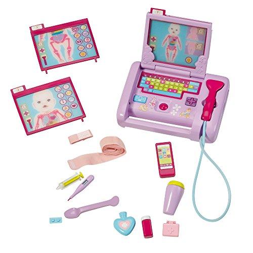BABY born - Interaktiver Kinderarzt Laptop (Englische Sprache)