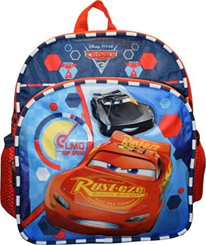 Logo Mini Backpack (Disney Pixar Cars McQueen Deluxe 10