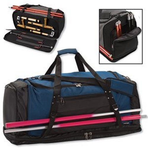Martial Arts Weapons Bag size SMALL color BLACK/BLUE ()