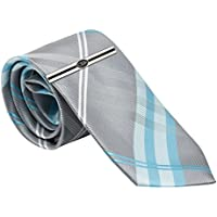 Boys Tie and CTR Tie Bar for Baptism, 45-inch