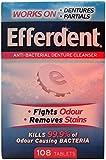 Efferdent Denture Cleaner 108