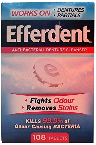 Efferdent Denture Cleaner 108