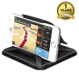 Universal Cell Phone Holder for Car - FITFORT Dashboard Car Phone Mount Stand Mounting in Pixel Vehicle GPS Holder Compatible with Phone XS X 8 7 Plus Samsung Galaxy Note 9 8 and 3-7 Inch Smartphone