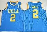 2017 UCLA Bruins Lonzo Ball 2 College Basketball Mens Jersey Blue