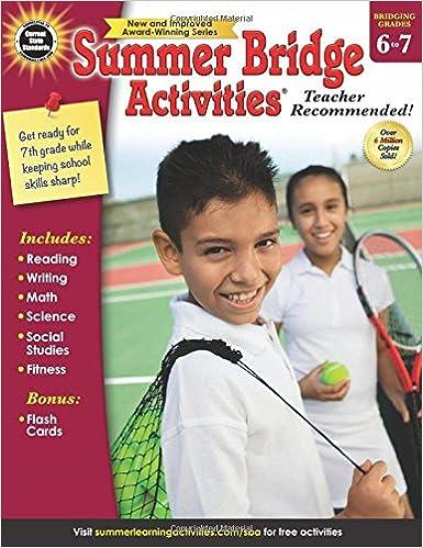Summer Bridge Activities®, Grades 6 - 7: Summer Bridge Activities ...