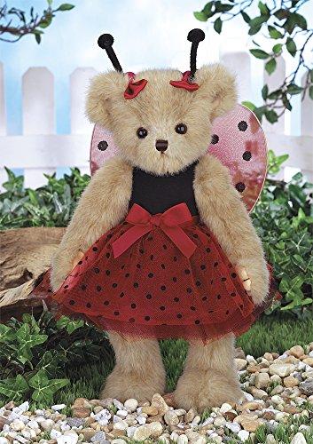 (Bearington Laura B. Lucky Teddy Bear Stuffed Animal Toy 14