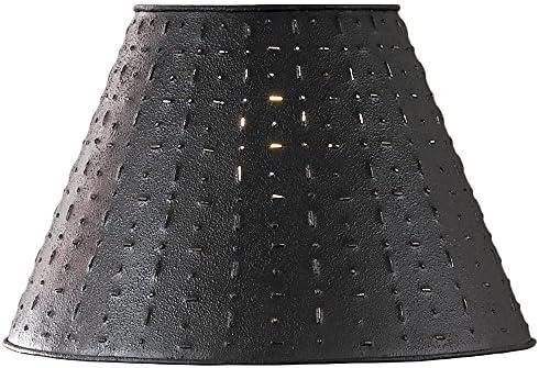 Metal Dot Dash Black 12 Shade