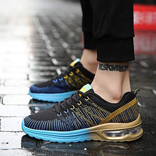 Running Et Hommes Léger Air Trainers Sport Basket De Femmes Athlétisme Chaussures Manadlian Fitness Bleu Respirant x1qaHH