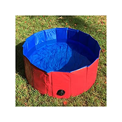 FurryFriends Foldable Dog Pool - Folding Dog / Cat Bath Tub - Collapsible Pet Spa Whelping Box Christmas Gift