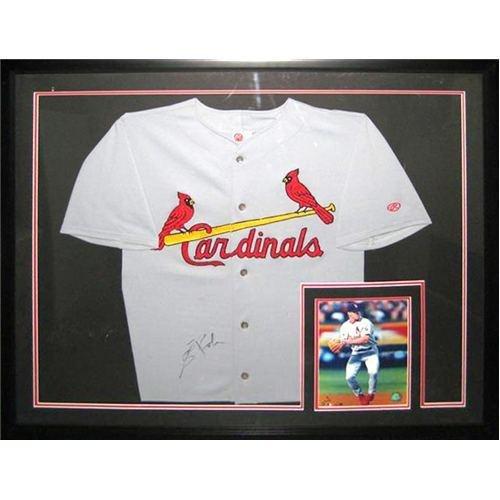 - Scott Rolen Autographed St. Louis Cardinals Deluxe Framed Grey Jersey