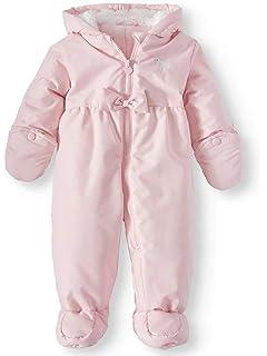 345fe1431454 Amazon.com  ZOEREA Infant Newborn Baby Hoodie Down Jacket Jumpsuit ...