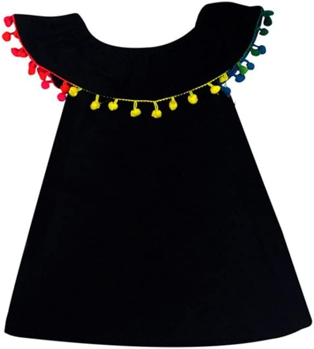 1-5ans Amlaiworld Robe de Filles Enfants b/éb/é Fille Robe d/épaule Robe de Partie de Princesse de Gland V/êtements de Tenue