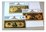 Gold Banknote 3 Certificate Set 1899