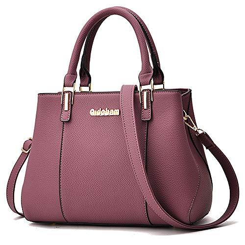 Design Satchel Handbag - ALARION Women Top Handle Satchel Handbags Shoulder Bag Ladies Designer Purse Messenger Bags