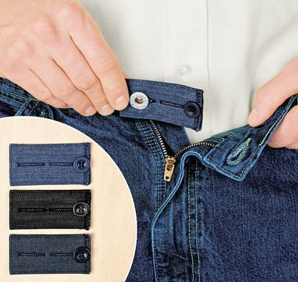 - Easy Fit Buttons for Jeans