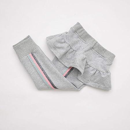 ZXYSHOP Niña Leggins Leggings Pantalones De Lápiz con Falda De ...
